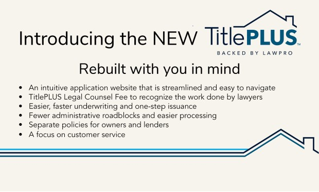 Show me the new TitlePLUS